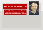 Trevor Gauntlett Consulting - Songwon enters the Lubes Market